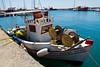 The fishing village of Limanaki , Santorini, Greece