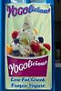 Frozen yogurt at Yogolicious  in Fira, Santorini, Greece