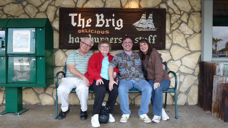 The Brig Restaurant - where we ate dinner.