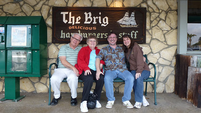 The Brig Restaurant - where we ate dinner.