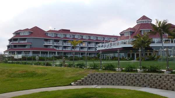 Our hotel - Laguna Hills Resort and Spa (Marriott)