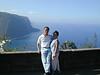 Big Island, HI - Peter and Beverly at Waipio Valley