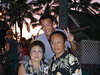 Big Island, HI - Peter, Beverly, and son Adriel at luau, King Kamehameha Hotel