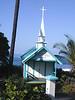 Big Island, HI - A really little church by the seaside in Kona