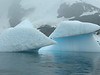 Icebergs.  Note the beautiful blue color.