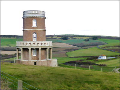 Danescombe Mine Cornwall and Clavell's Tower, Dorset