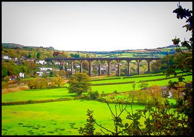Calstock Viaduct, Cornwall