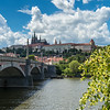 Prague Castle from the river
