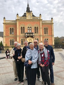 Novi Sad, Serbia, with Tom & Martha Edmonds, Mark Sidell, Sylvia & Al Safer, Mary-Kathryn & Dick Roelofs