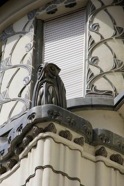 Art nouveau Building,  Budapest