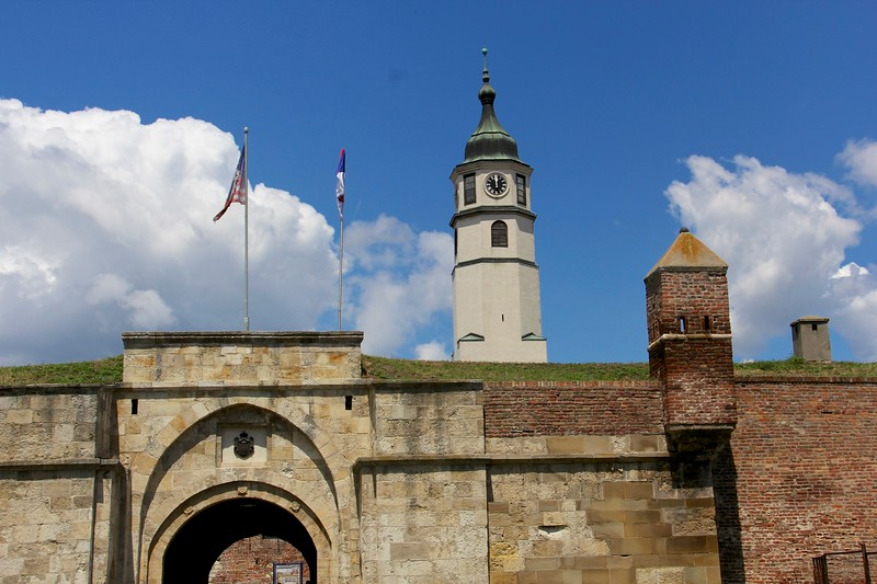 Kalemegdan Citadel, Belgrade, Serbia