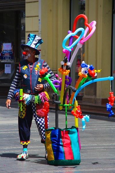 Baloon Clown, Belgrade, Serbia