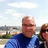 Kathy and me with the Hungarian Parliment building in the background
