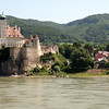 Castle overlooking the Danube in the Wachau Valley