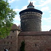 Guard tower on the Old City Wall of Nuremburg