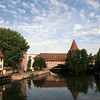Old City Wall Bridge in Nuremburg