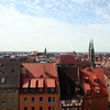 Nuremburg Old City Skyline