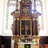 Altar of Trinity Lutheran Church in Regensburg