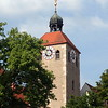 Clock Tower in Regensberg