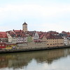Regensburg skyline and the Danube