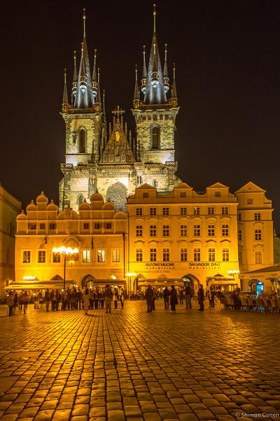 Prague - church of the Virgin Mary before Tyn