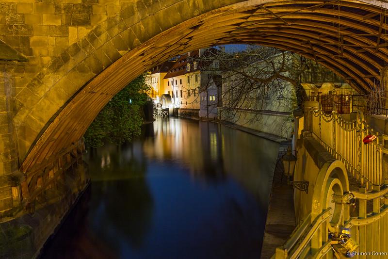Prague water mill