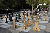 "Bratislava featured a ""king sized"" game of chess."