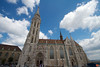 The beautiful Matthias Church, on the top of Buda hill in Budapest. It was built in the late 14th century.<br /> _MG_8511
