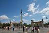 Heroes' Square (Hősök tere), Budapest.<br /> _MG_8468