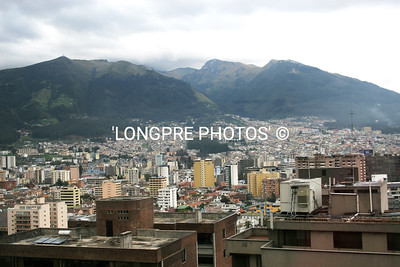 QUITO, capital of ECUADOR.