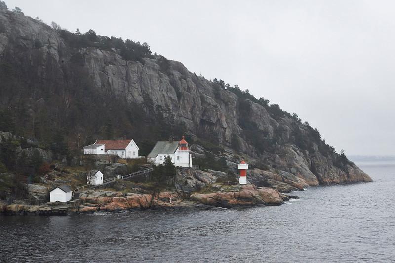 Entrance to Kristiansand Harbor
