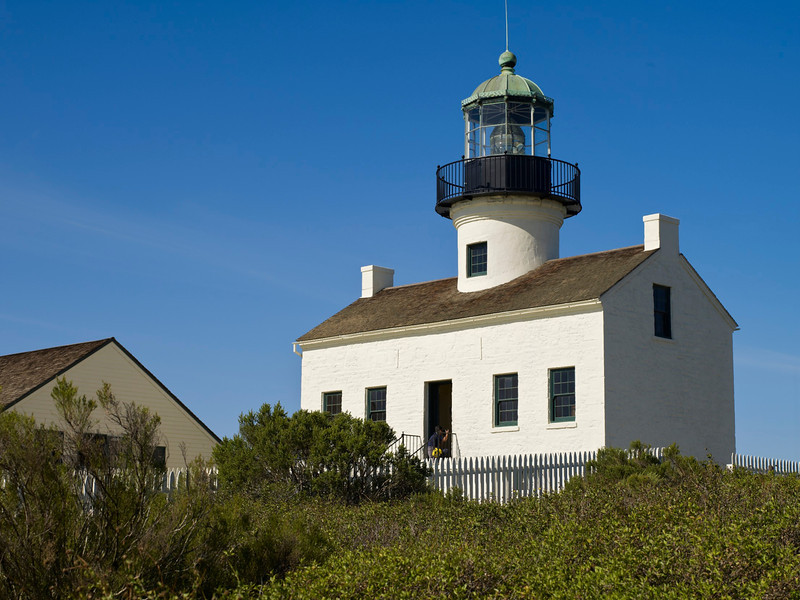 Cabrillo National Monument, Old Lighthouse