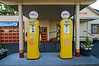 Vintage gas pumps, Issaquah WA.