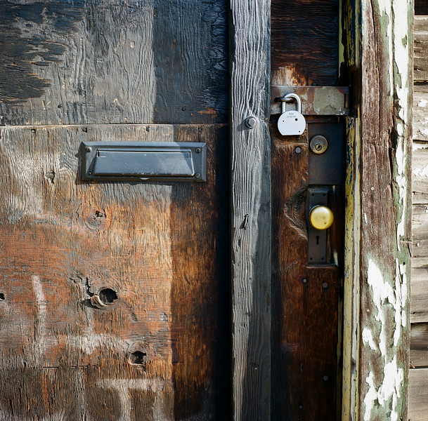 Weathered door, Georgetown WA