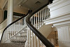 Hunter Museum Mansion traditional southern stairway with bannister
