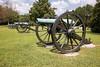 Field pieces at Chickamauga Battlefield