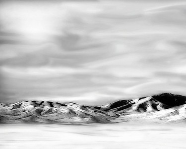 """Afternoon in the Promontories""  Promontory Mountains, northern Utah.  Recommended Sizes: 4 x 5, 8 x 10, 16 x 20 Looks especially good large."
