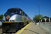San Joaquin 716 at the Merced platform.