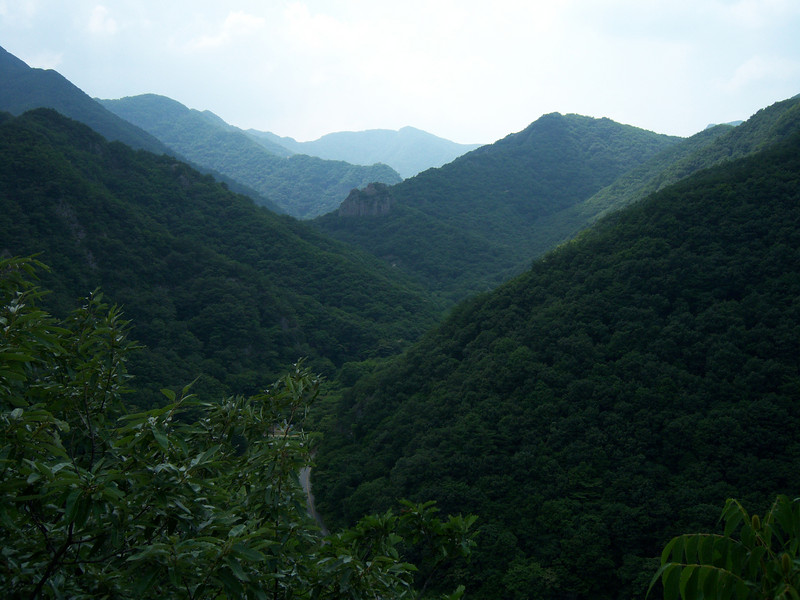 Anderson's coworker, Mr. Park, took us for a day out.<br /> First stop, the view from the mountain road in Naejang National Park