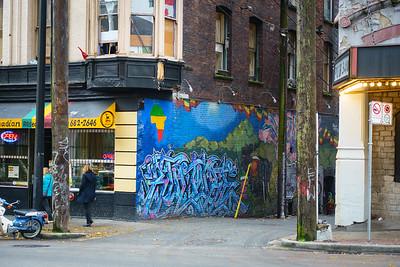 Cambie Street Grafitti