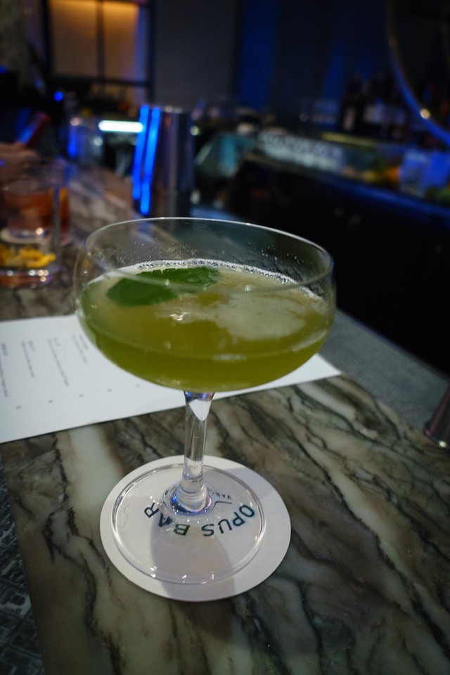 """The """"Backyard"""" Cocktail at Opus"""