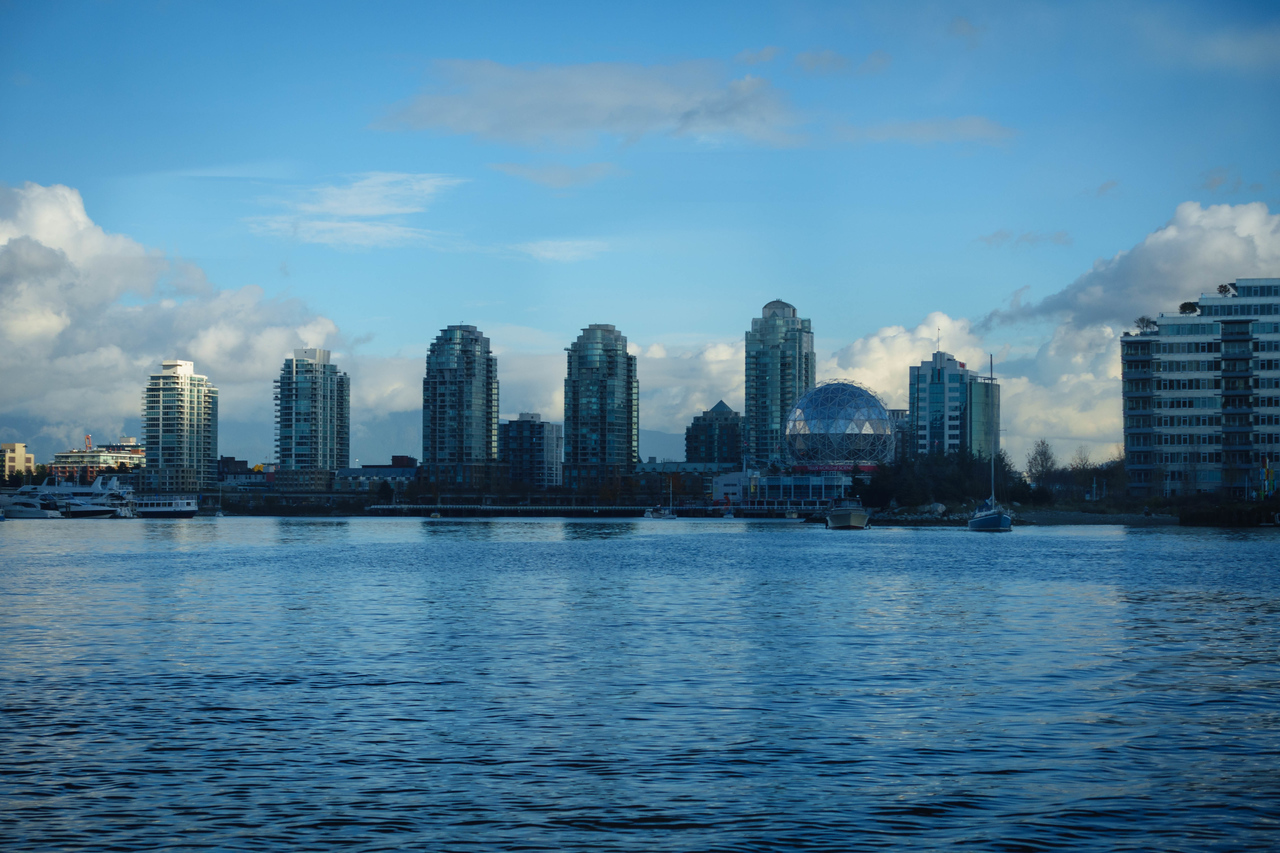 Science World from False Creek