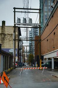 Alley Behind Granville St