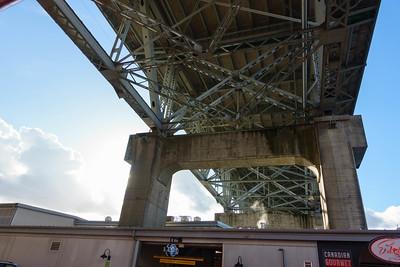 Under the Granville St Bridge