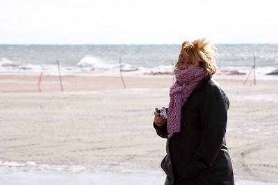Lauralea in the wind