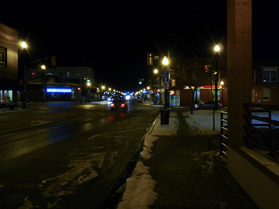 Kingsville at night