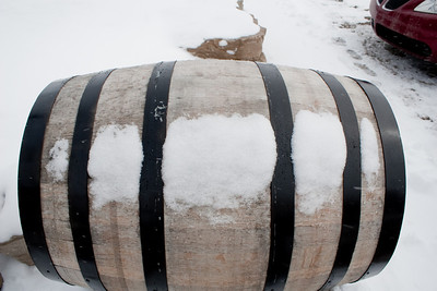 Snowy Barrel