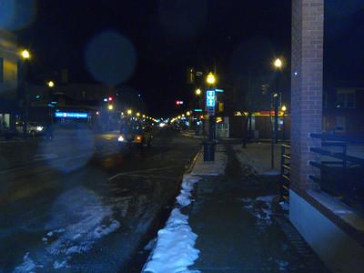Kingsville at night