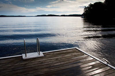 The Swimming Dock, Makalika Cottage, Milford Bay