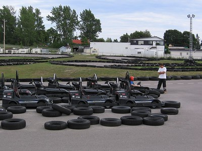 Go-karts at Wild Water and Wheels